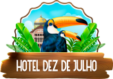 Hotel & Hostel Dez de Julho @ Manaus – Amazonas – Ao lado do Teatro Amazonas